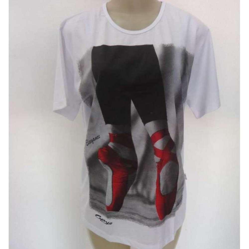 df600269cd D Leite Artigos de Dança - Sumaré  Camisetas Estampadas