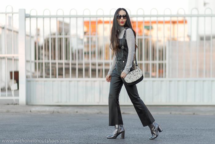 influencer blogger de Valencia con ideas Como combinar prendas de piel con estilo