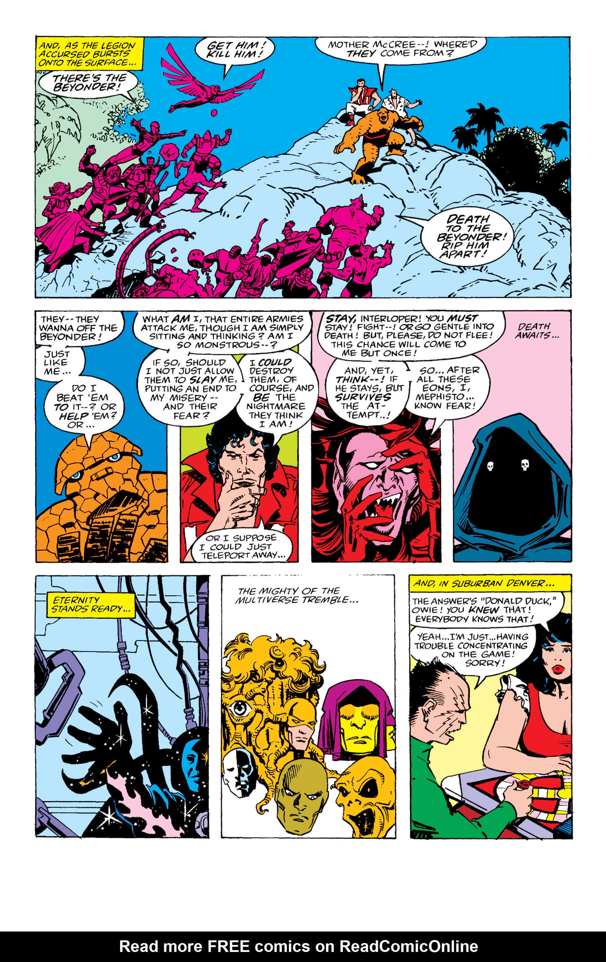 Read online Secret Wars II comic -  Issue #7 - 19
