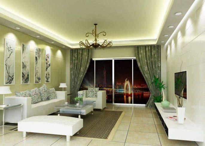 Dekorasi Ruang Tamu Dan Wall Tv Idaman Rempit Kehin