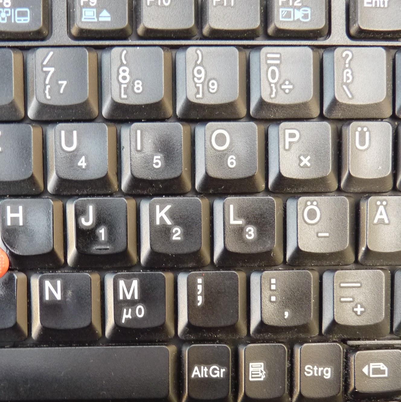 wo liegt ctrl auf der tastatur