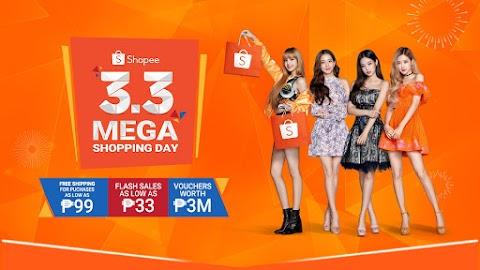 BLACKPINK Official Campaign Ambassador for Shopee 3.3 Mega Shopping Day