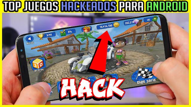 Top Juegos Hackeados Con Todo Desbloqueado Para Android 2018 Apk