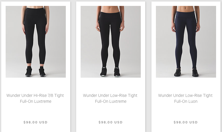 1778929468 Lululemon Addict: Design Updates: No More High Times and Wunder Pants Are  Becoming Wunder Under Tights