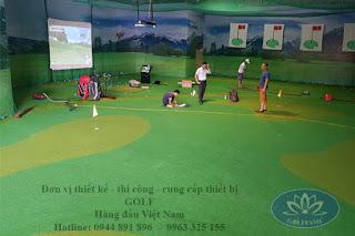 Dịch vụ lắp đặt hệ thống golf 3D của Golffami - Golf simulation