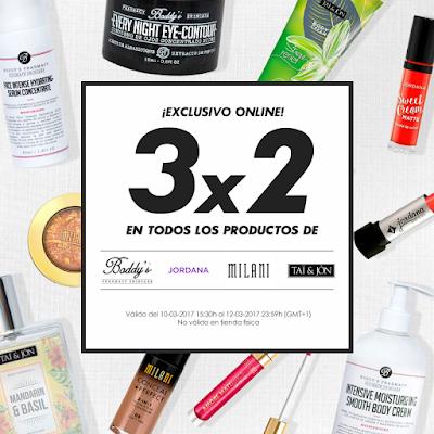 3x2 en Perfumerías Primor