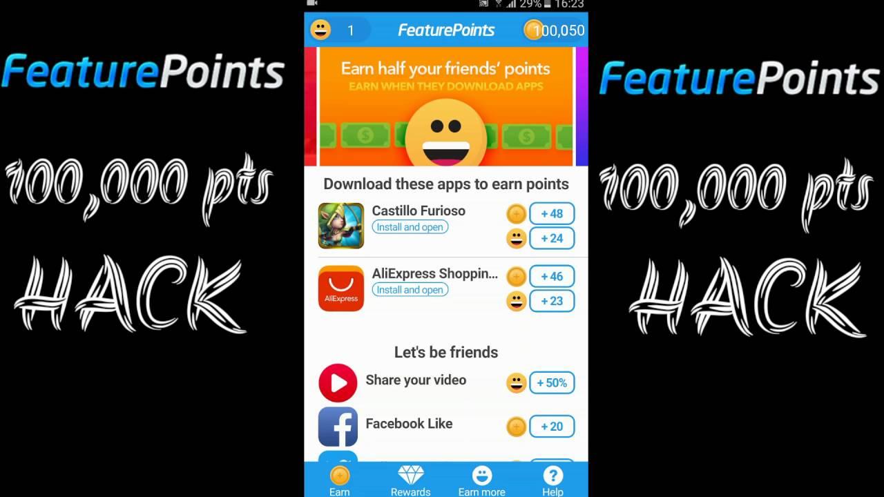 feature points mod apk