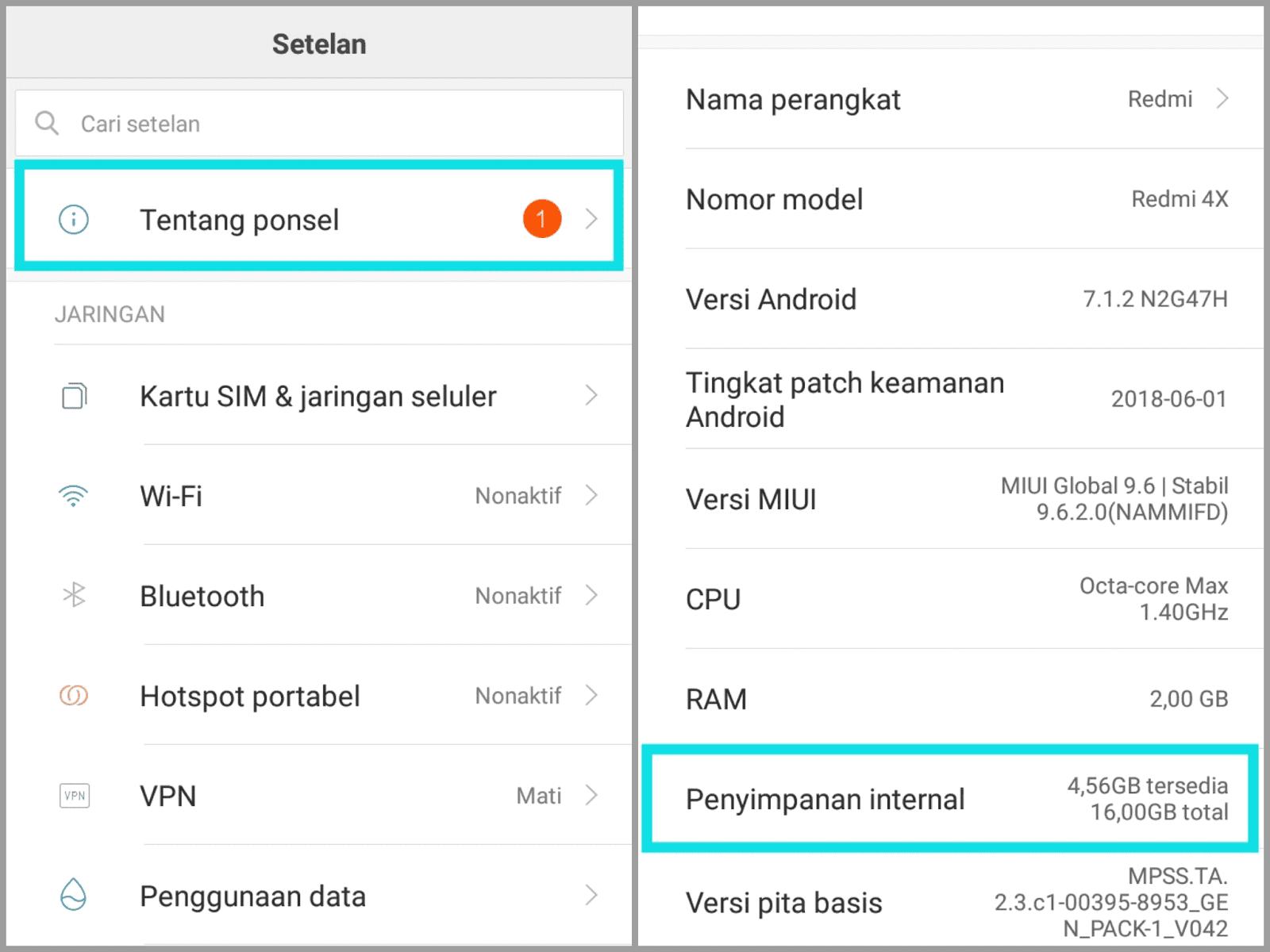 Mengatasi Tidak Bisa Melakukan Panggilan Keluar Xiaomi