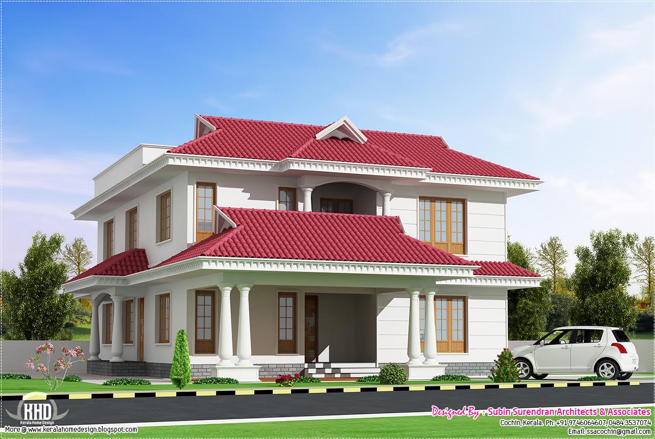 3 Bedroom Beautiful Villa In 2500 Kerala Home Design And Floor Plans