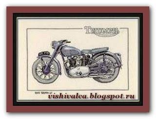 "Heritage Crafts Серия: Motorbikes CTR194 1949 ""Triumph 6T"""
