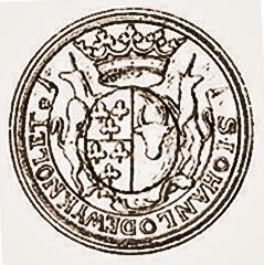 Héraldique Nolet, Heusden, boeufs et trèfle.