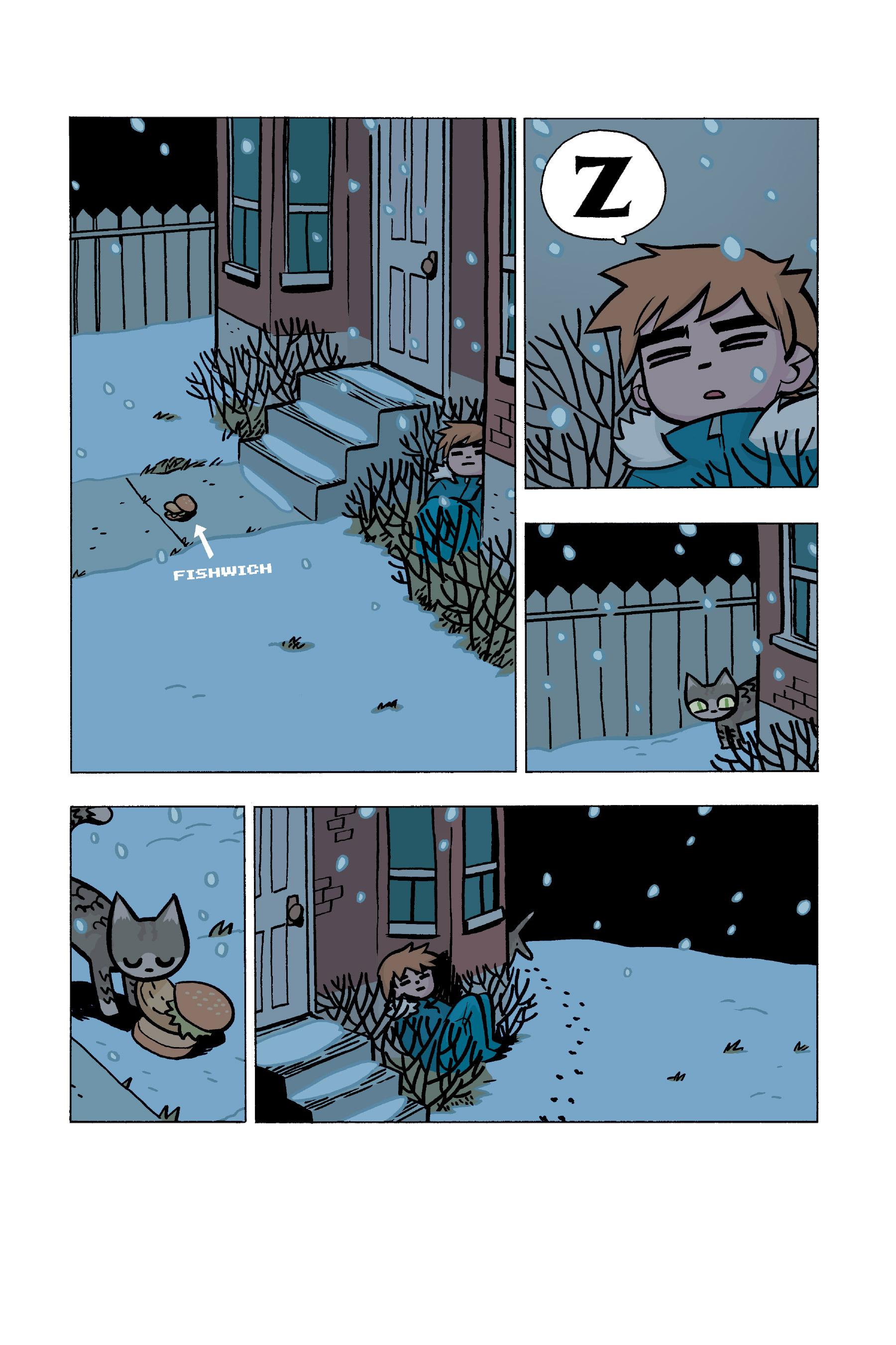 Read online Scott Pilgrim comic -  Issue #5 - 158