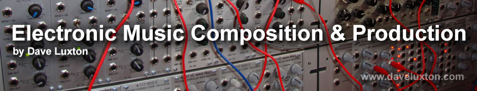 Electronic Music Composition & Production