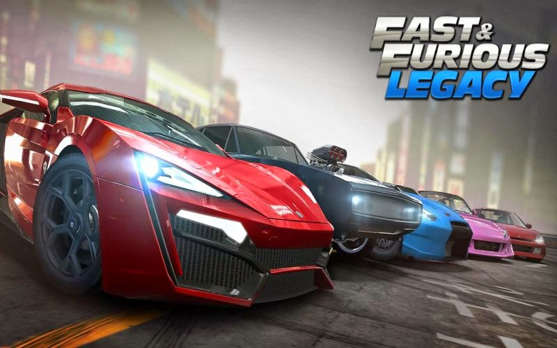 Fast & FuriouS Ada di Games Android