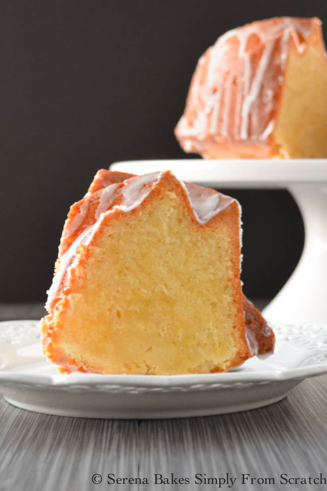 Lemon Lime 7up Pound Cake.