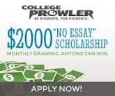 College Prowler No Essay Scholarship