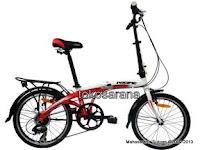Sepeda Lipat Pacific 2988-8 Rangka Aloi 20 Inci