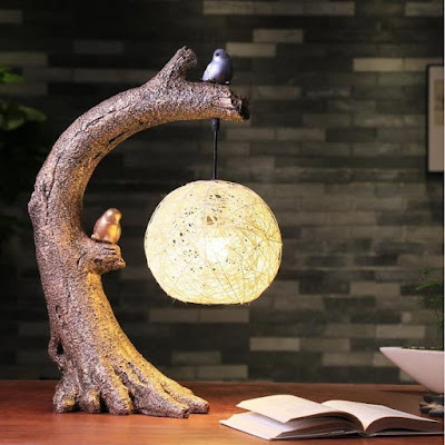 Bird Tree Desk Lamp