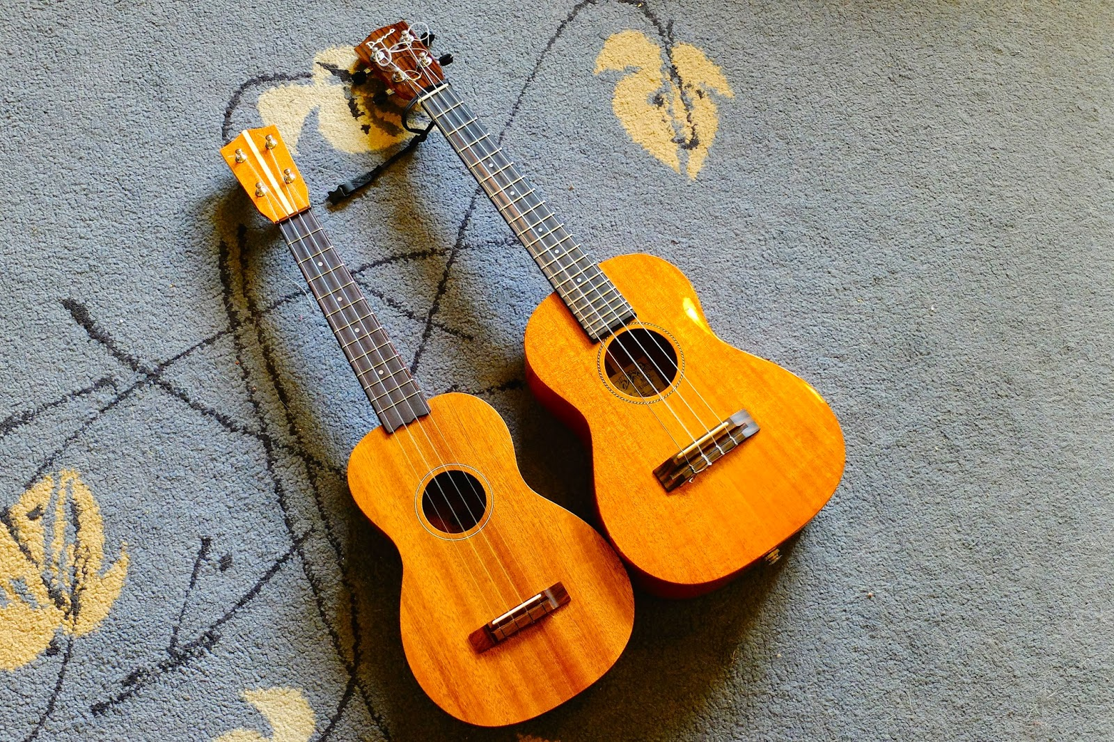 Bruko 9 tenor size comparison