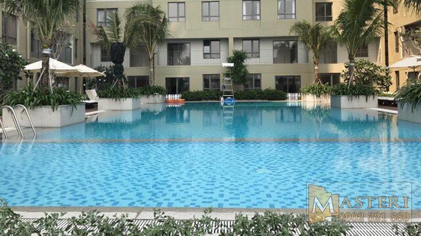 Cho thuê căn hộ Masteri Thảo Điền Quân 2 - hồ bơi