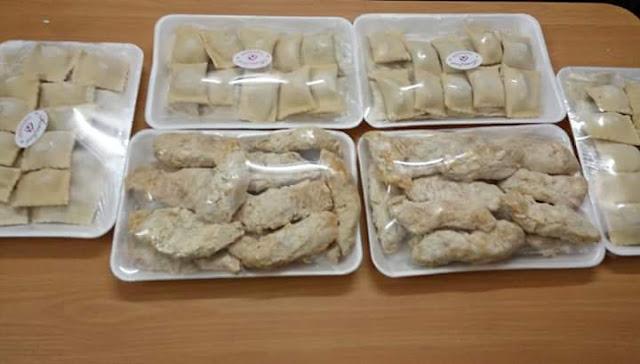 تجهيزات شهر رمضان وفرزنة الأطعمة