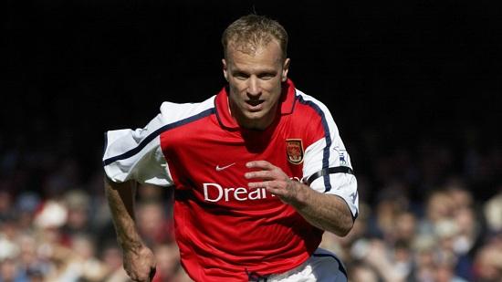 Bergkamp từng được nhận xét là cầu thủ hay nhất đội bóng thành London