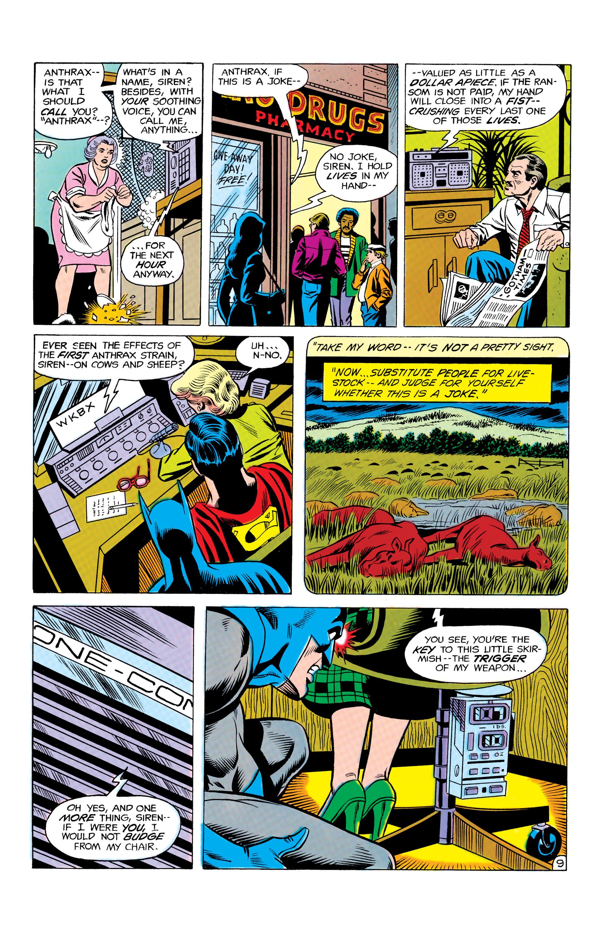 Read online World's Finest Comics comic -  Issue #292 - 10