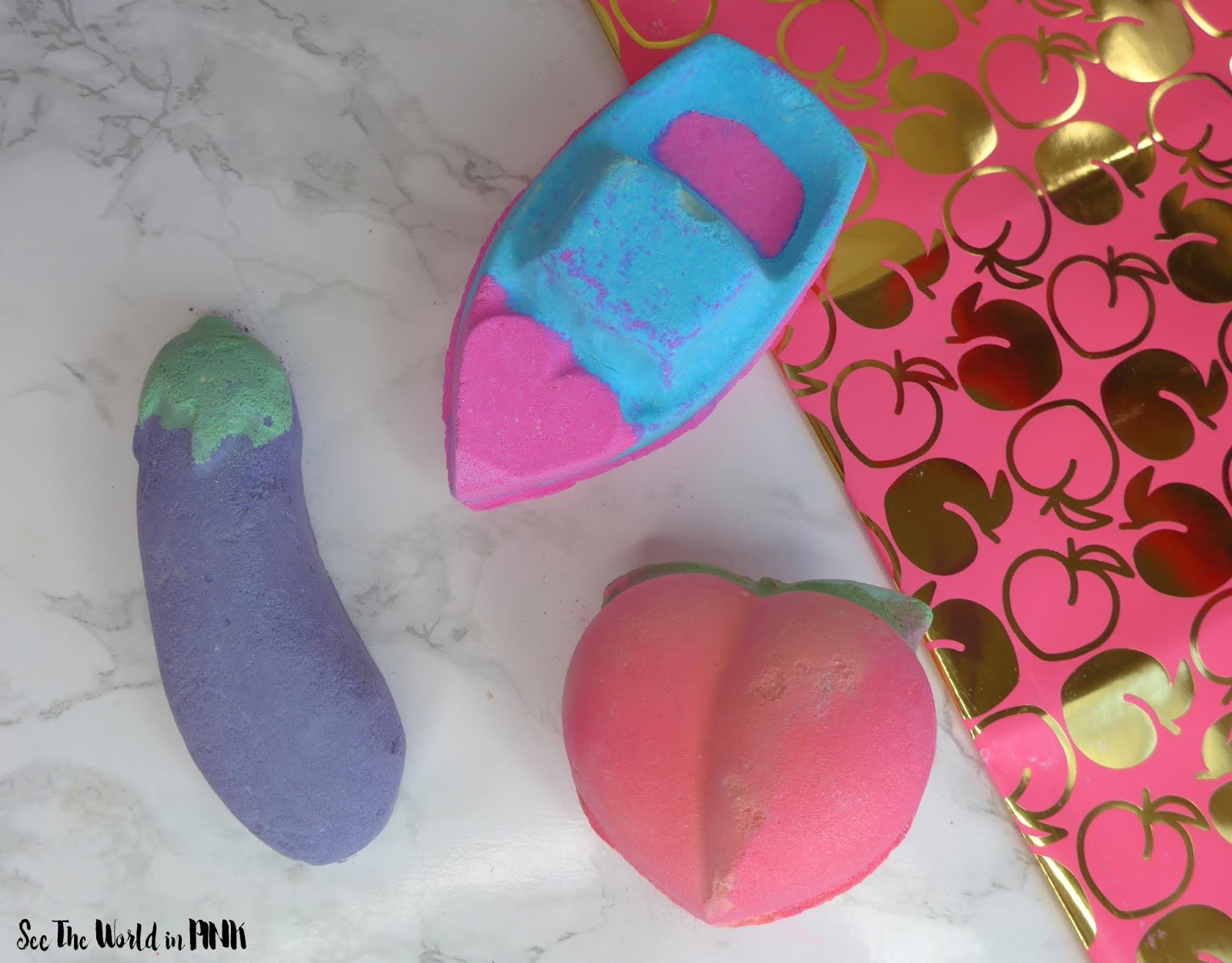 Lush Valentine's Day Bath Bombs