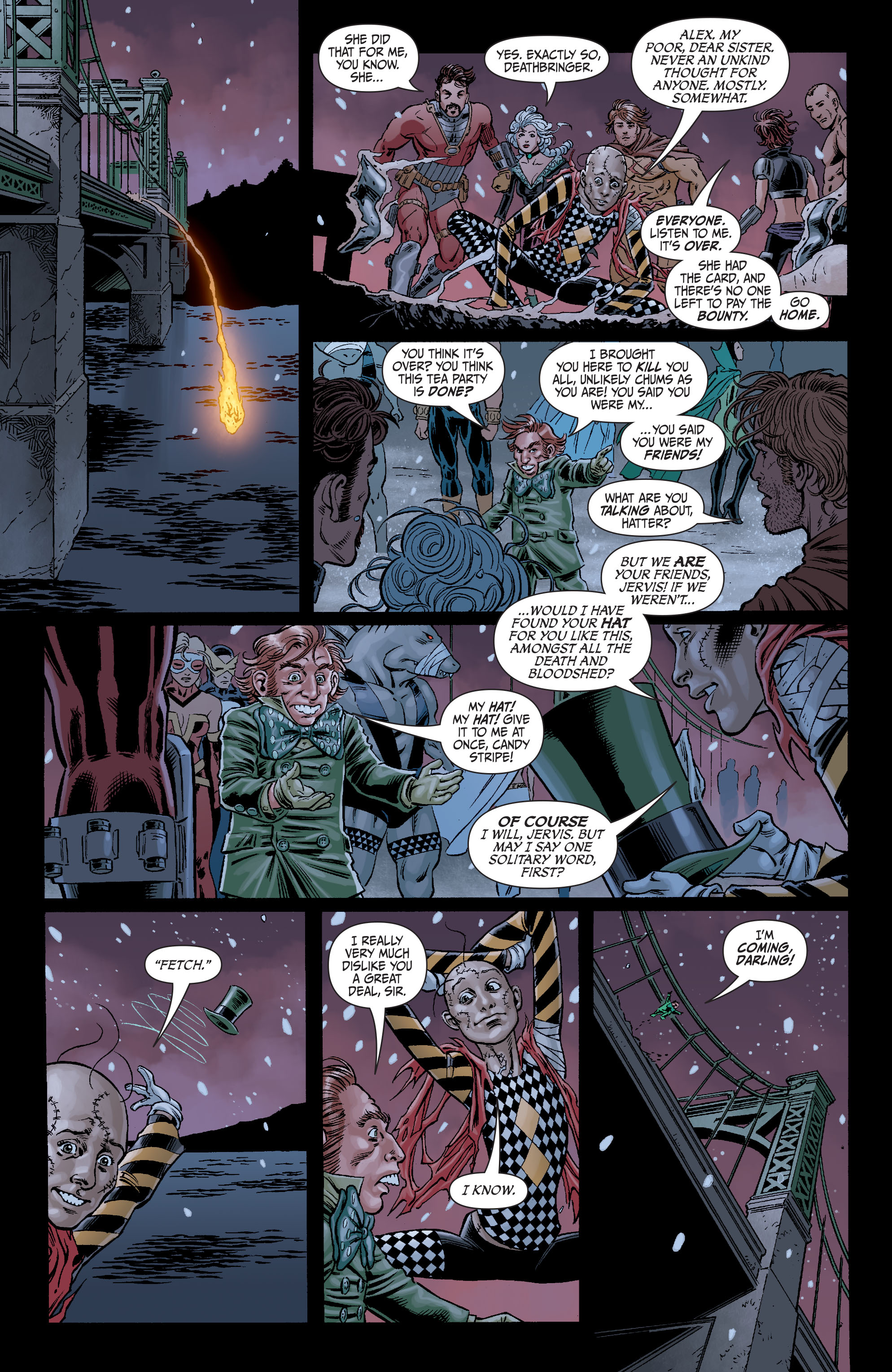 Read online Secret Six (2008) comic -  Issue #7 - 21