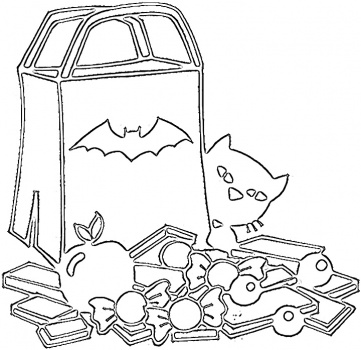 All Candy Coloring Pages Pictures To Kids