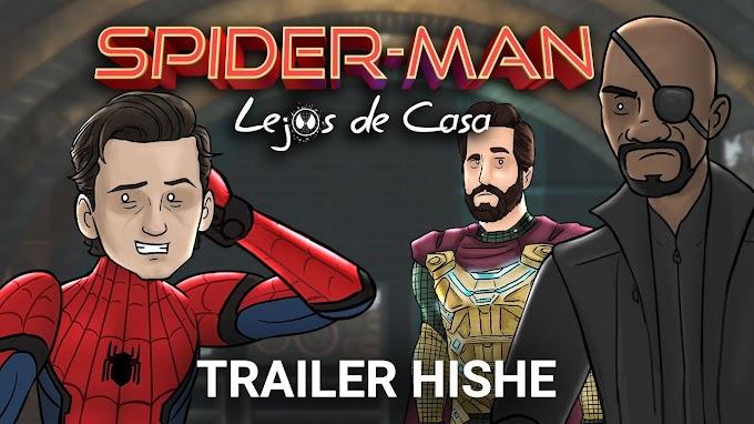 Como debería haber terminado el trailer de Spiderman Lejos de Casa