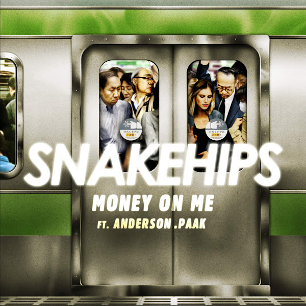 Snakehips - Money on Me (feat. Anderson .Paak) - Single Cover