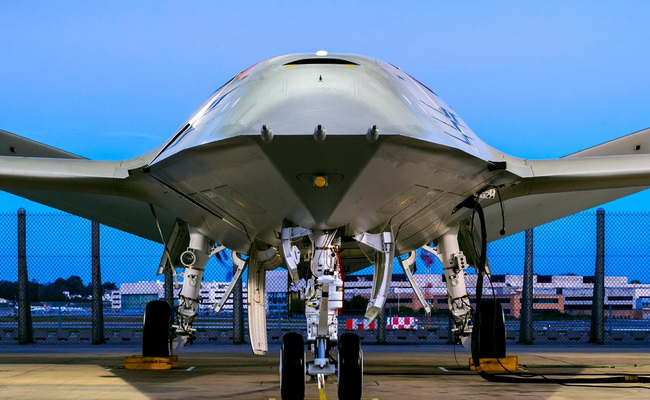 Tinuku Boeing showcased MQ-25 drone for jet refueling