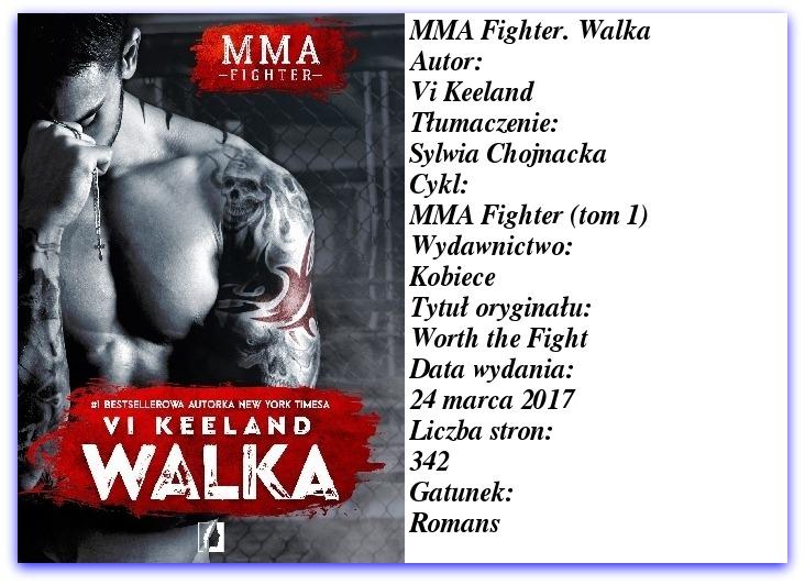 MMA Fighter. Walka Vi Keeland  → W sam raz na jeden raz.