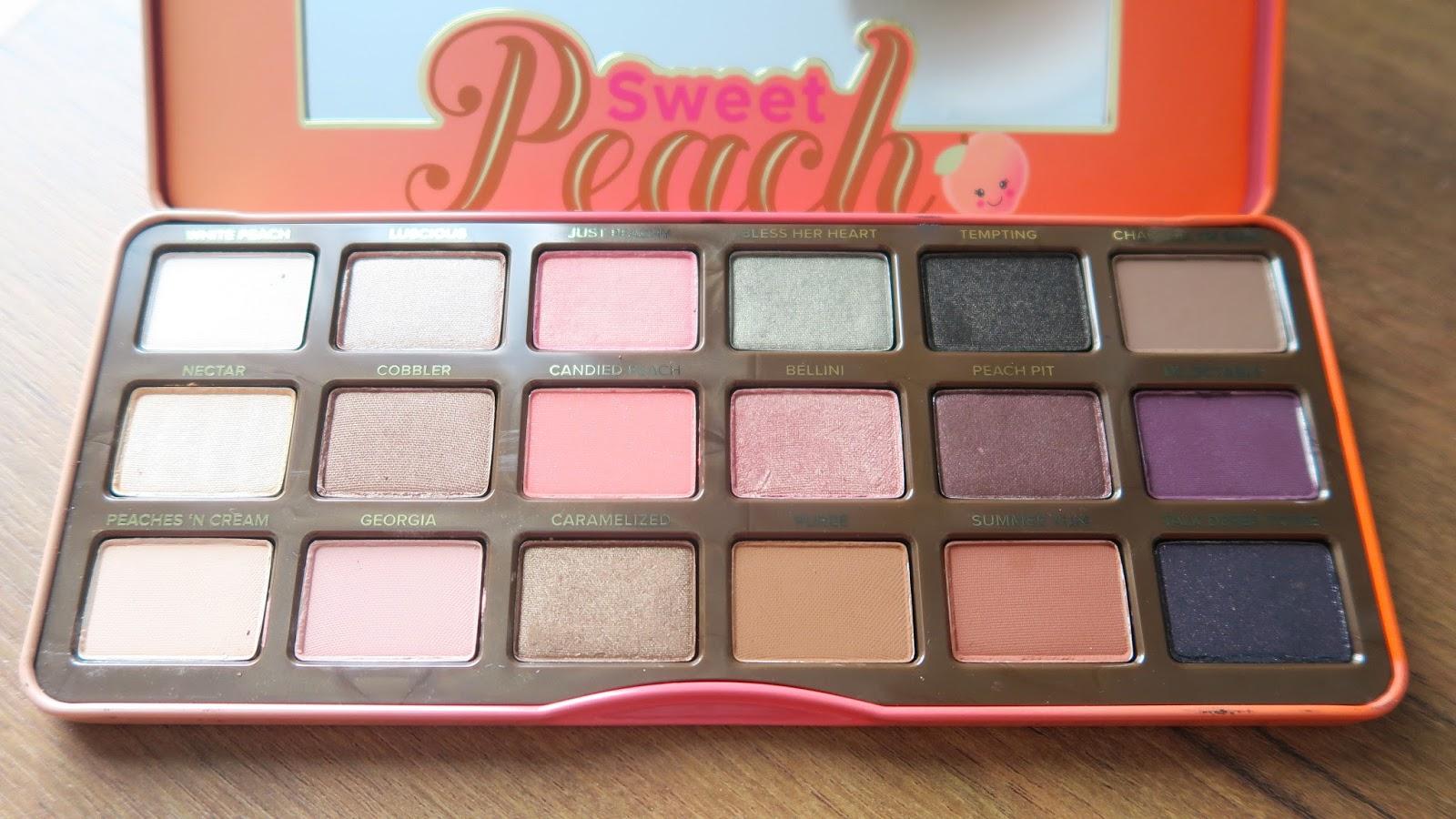 sweet peach palette # 86