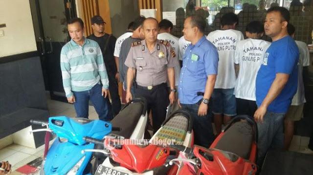Begal Sadis di Tangerang Sabet Polisi Pakai Senjata Tajam