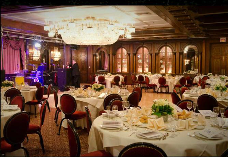 The Left Ballroom Is More Of A Darker Wood Look With Outside Fountains And Right Lighter Whiter Version Views Gardens