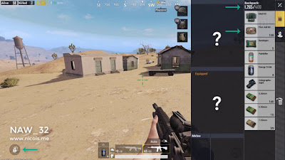 Salah satu contoh inventory bug di PUBG Mobile. Senjata tidak ada dalam tas. Backpack level 2 bisa bawa First Aid Kit sampai 108 biji? Menurut ngana?