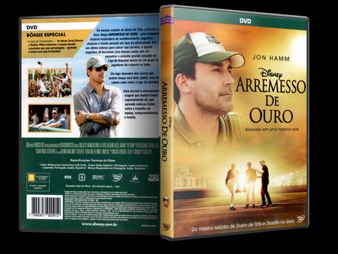 Capa DVD Arremesso de Ouro