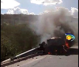 Acidente com vítima fatal aconteceu nesta quarta-feira na PB-137 em Picuí; veja vídeo