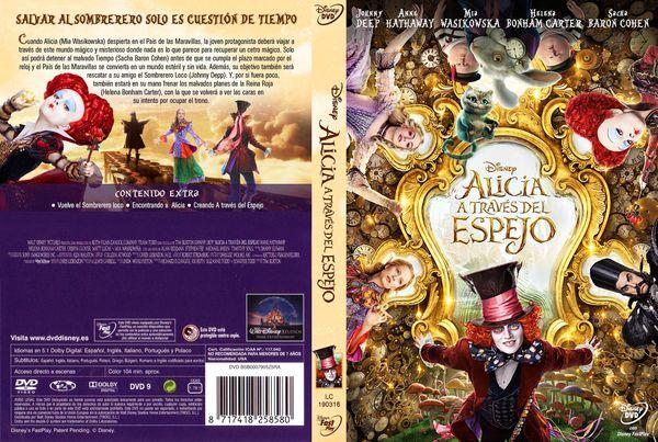 Alicia A Través Del Espejo – Castellano, Inglés – DVD9
