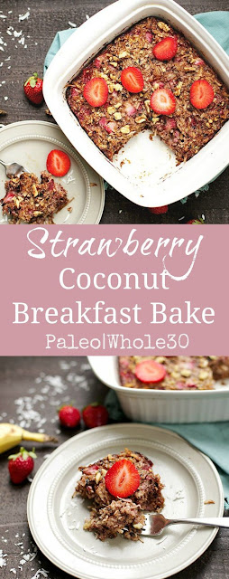 STRAWBERRY COCONUT BREAKFAST BAKE