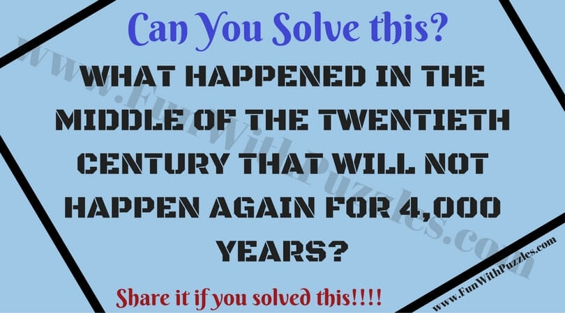 Fun Puzzles with answers that will blow your mind - Fun With Puzzles
