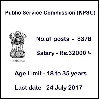 Public Service Commission (KPSC) Career Notification