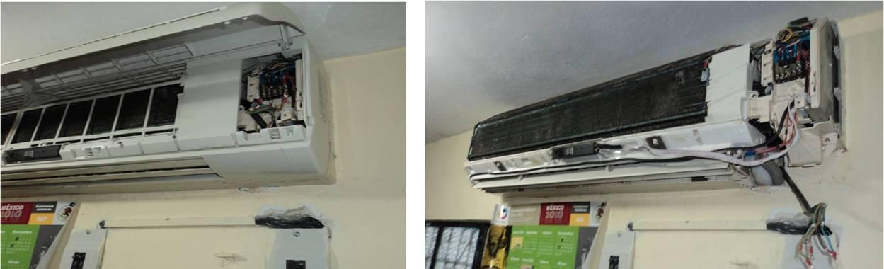 mantenimiento de un aire acondicionado split reparaci n