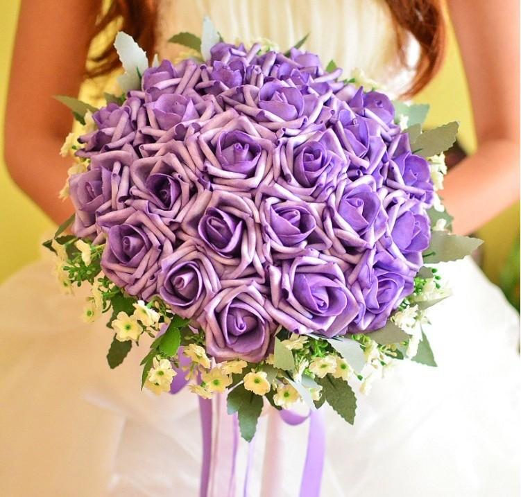 Bouquet fleurs artificielles mariage anniversaire de mariage - Bouquet de mariee artificiel pas cher ...