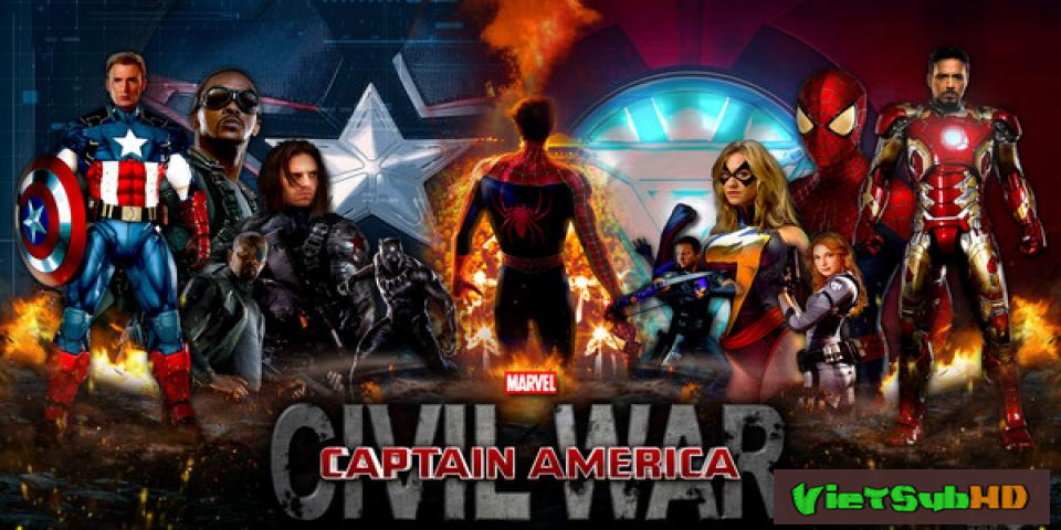 Phim Captain America 3: Nội Chiến VietSub + TM HD | Captain America 3: Civil War 2016