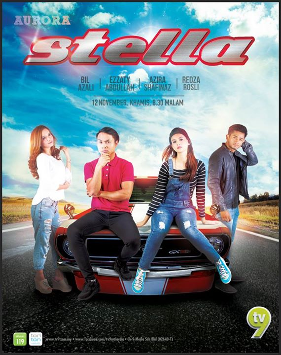 Original Sound Track OST Stella TV9, lagu tema drama Stella TV9, lagu latar, download OST Stella TV9, tonton video klip lagu Gergasi Hijau – PaySlip