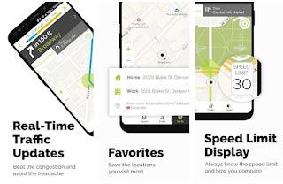 Aplikasi Navigasi Terbaik Untuk Android Alternatif Google Maps