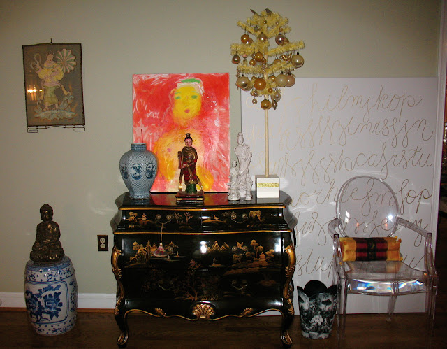 Chinoiserie Chic: Friday From My Chinoiserie Home - Orange